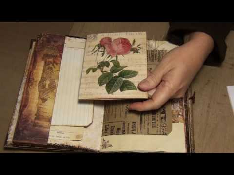 Vintage Floral journal (SOLD)
