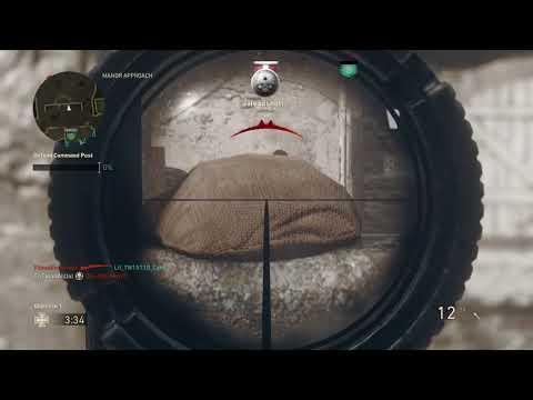 Call of Duty WW2: INSANE QuickScope/Sniping montage !!! (360 noscope/Quickscope!!)