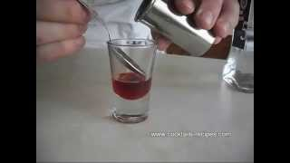 How to make Shot Russian Flag - Cocktail Drink Recipe