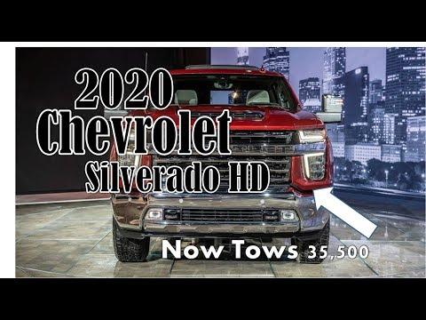 [Luck This] 2020 Chevrolet Silverado HD First Look - Now Tows 35,500 - Here's What You Need To Know!