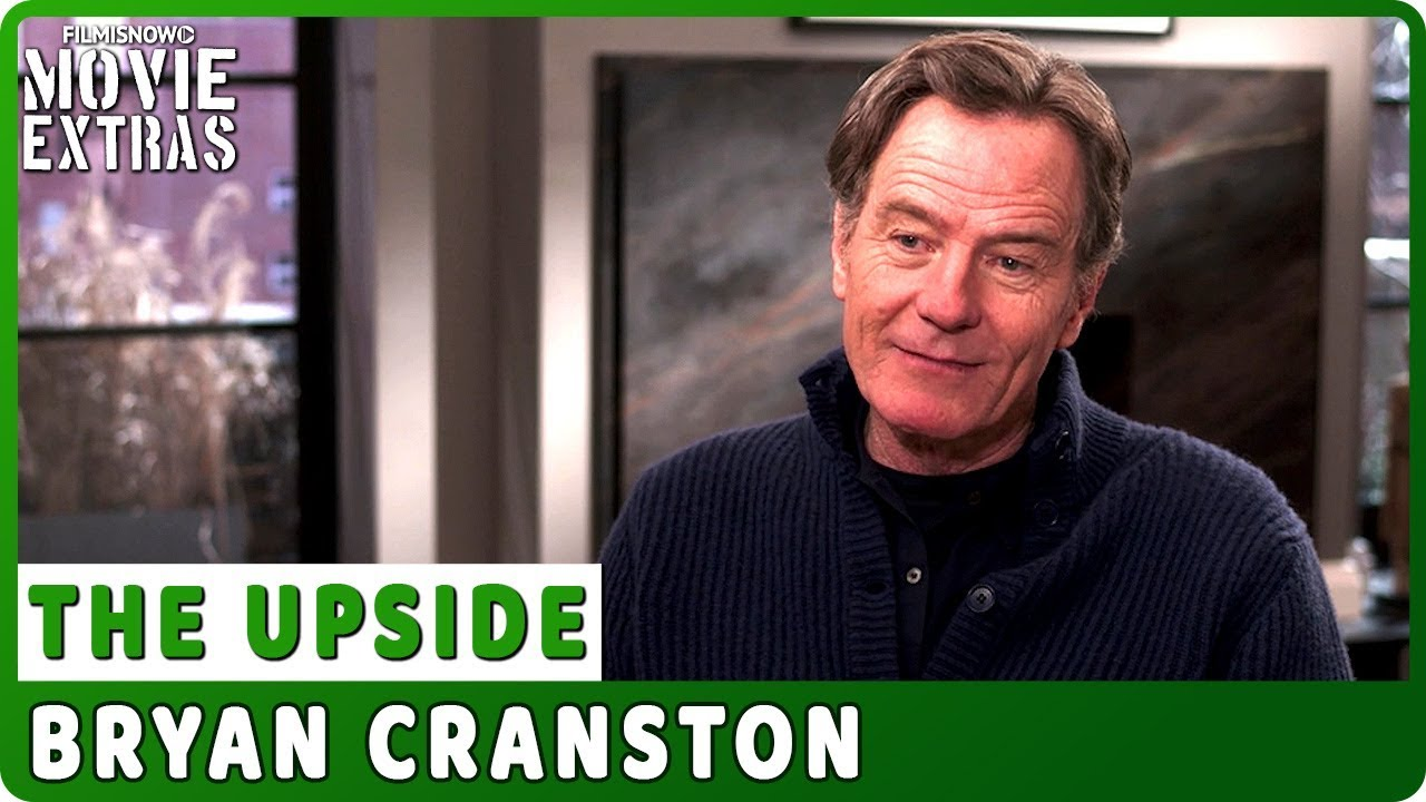 THE UPSIDE | Bryan Cranston talks about the movie - Official Interview