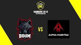 BOOM Esports vs Alpha Hashtag [BO3] - ESL One Hamburg 2019 SEA Open Qualifier - Cast by Justincase