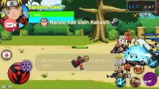 Live Streaming! Review Naruto Senki Mod