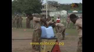 PNGDF and NZ Army Graduates as Physical Training Instructors