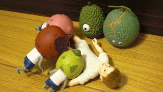 Capsule toys 2 - Gacha - Fruits Zombie Part.2
