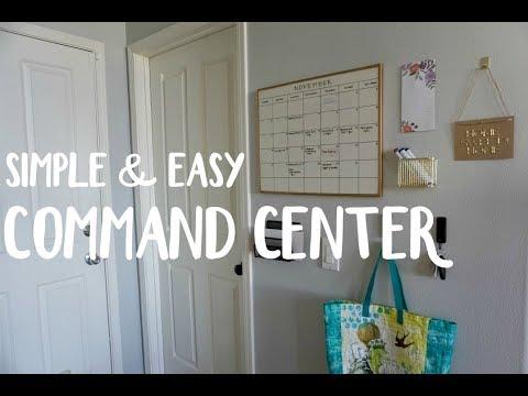 diy-organization- -simple-&-easy-command-center