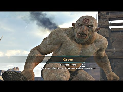 Shadow of War - Uruk Slave Promoted To Overlord