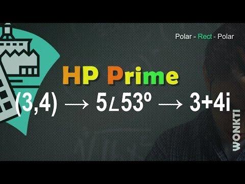 HP Prime, Referencia: Coordenadas Polares y Rectangulares