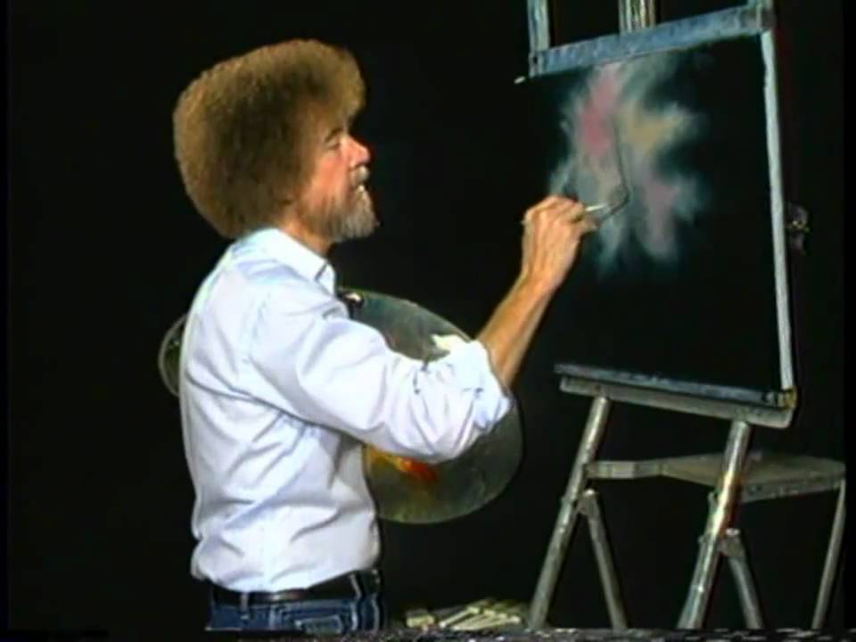 Bob Ross: The Joy of Painting - An Old Wiggledy Tree - YouTube