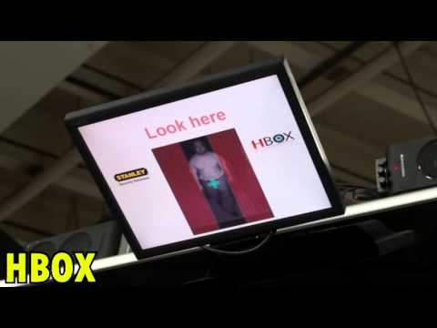 Eyelock Iris recognition HBOX In Action