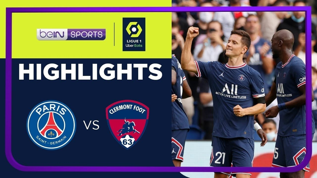 PSG 4-0 Clermont Foot | Ligue 1 21/22 Match Highlights