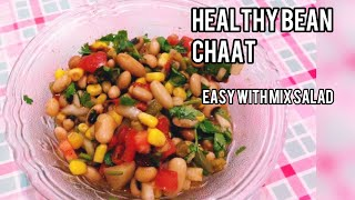 How to make healthy quick Indian Bean Salad