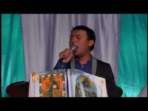 Cantante católico luis chonay en concierto en aldea la ceiba