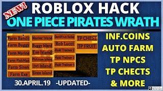 ROBLOX ONE PIECE PIRATES WRATH HACK l|l INFINITE COINS ll TP CHESTS , AUTO FARM , TP NPCS | *2019*