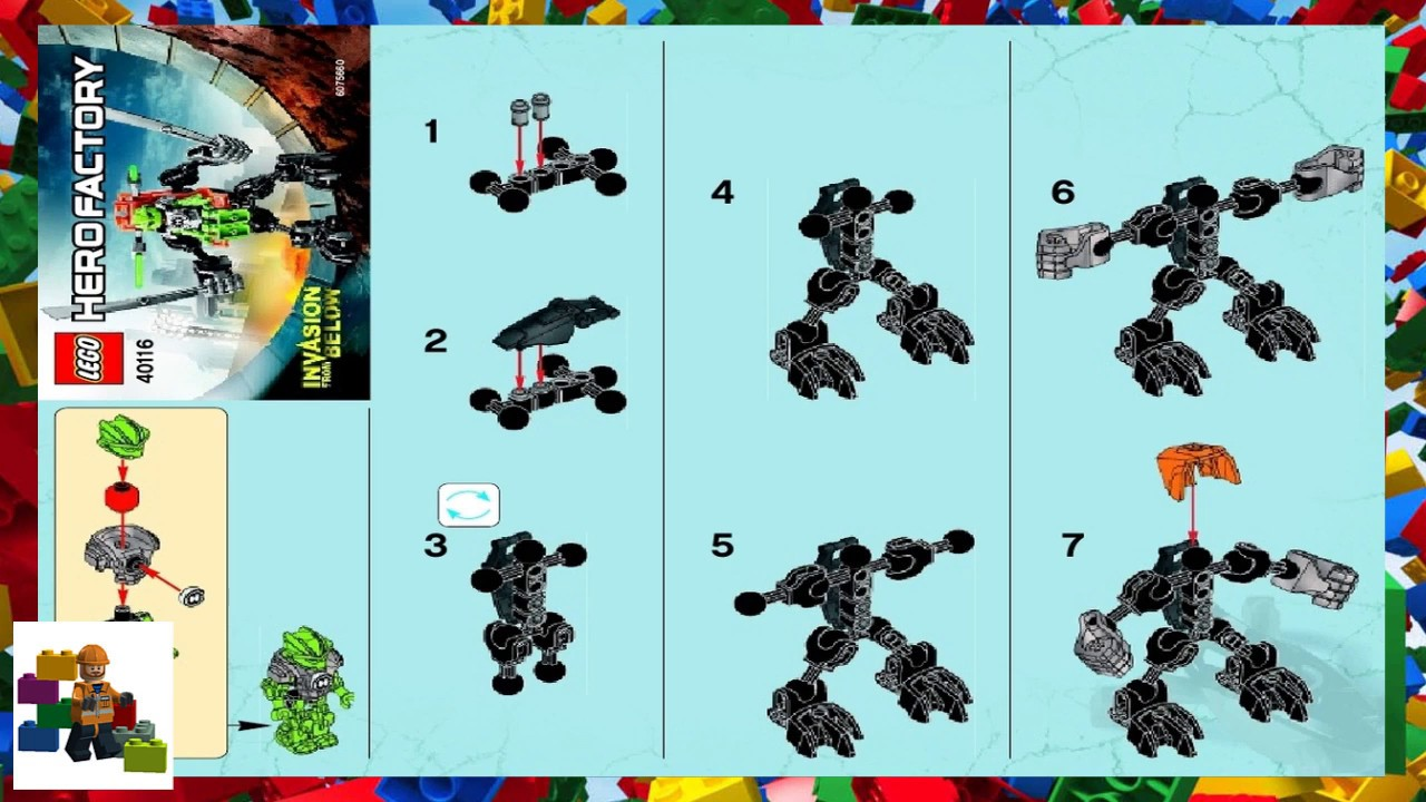 easy lego robot instructions