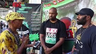 The Pills & Herman Smalls Talk With The President Of Black Lives Matter.