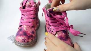 видео Демисезонная обувь для девочек