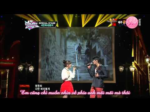 [GNAVN][Vietsub][06.09.12] All For You - Seo In Guk ft Jung Eun Ji (Apink) @ M!Countdown