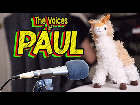 THE HALL of PAUL! - Behind the Scenes Voice Overs