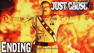 Just Cause 3 Ending Walkthrough Part  No Commentary [1080p] Gameplay Lets Play
