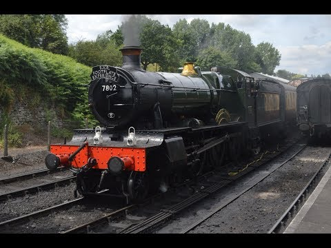 Severn Valley Railway Blue Timetable Saturday 8th july 2017