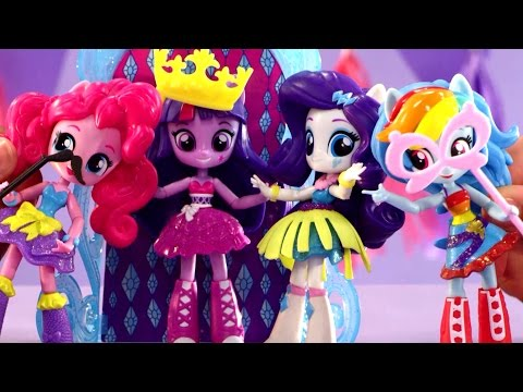 Thumbnail: Surprise Dance Party for Twilight Sparkle ! My Little Pony Dance Party Playset !