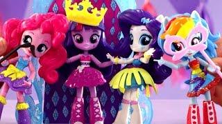 Surprise Dance Party for Twilight Sparkle !  My Little Pony Dance Party Playset !