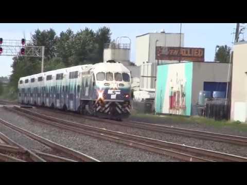 5:38 PM Sounder train