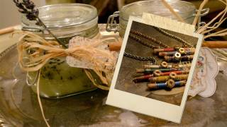 Holiday Tutorial #4 Necklace And Scrub   Gift For Her And Mom   Mr. Kate's 12 Diys Of The Holidays