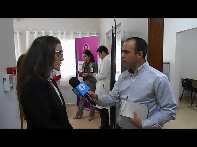 Visita Embajador de España en Paraguay al Ctro. Atención Integral para la mujer en Encarnación.