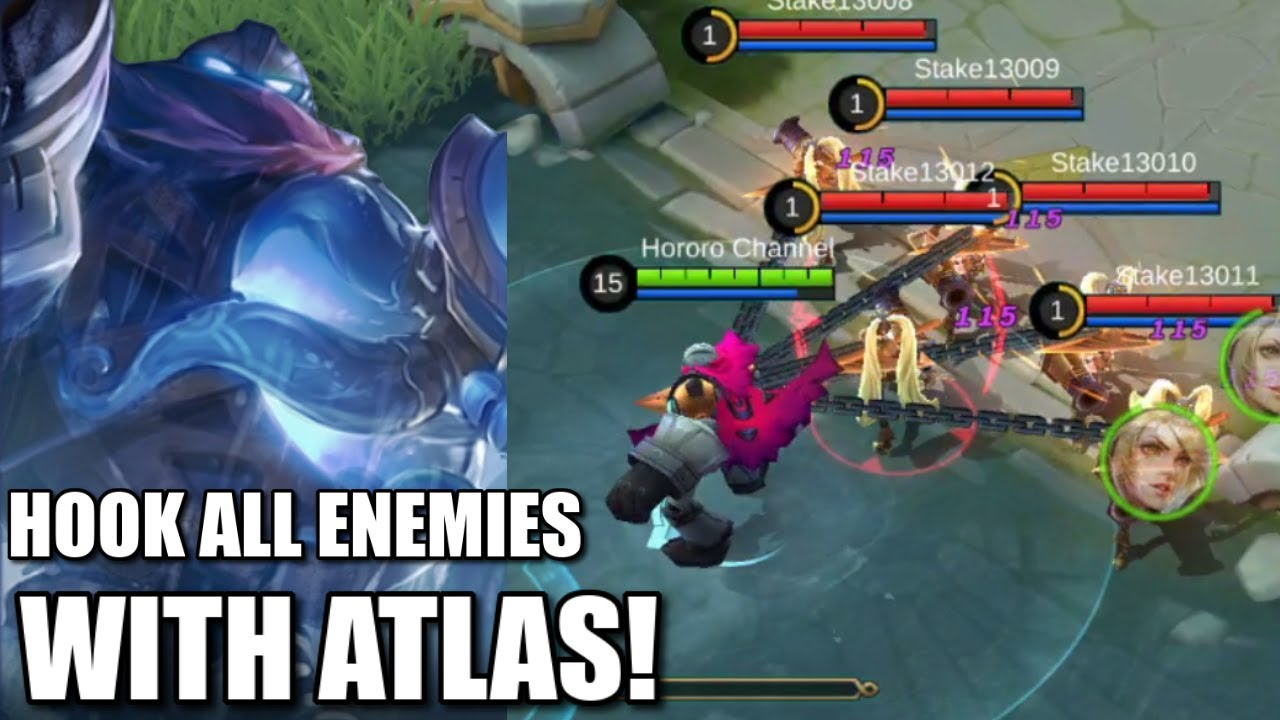 Hero Atlas Mobile Legends Resmi Meluncur Ini Deretan Skill