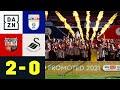 2:0 im Playoff-Finale! Brentford steigt in PL auf: Brentford - Swansea 2:0   EFL Championship   DAZN