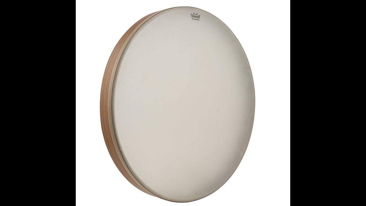 review remo 22 renaissance head frame drum youtube. Black Bedroom Furniture Sets. Home Design Ideas