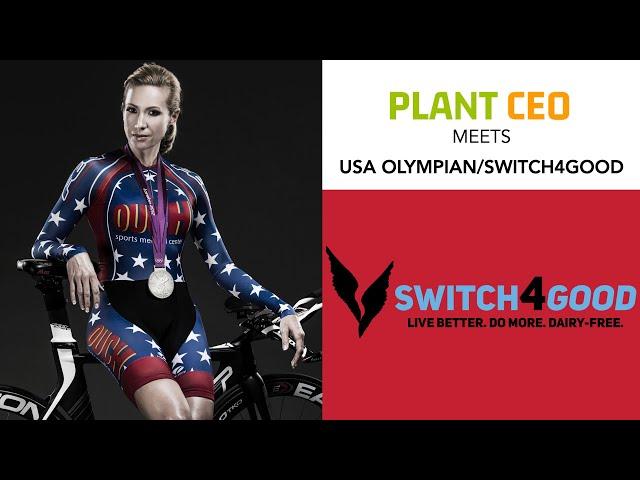 PLANT CEO #56 - PLANT POWERED OLYMPIAN: Cyclist Dotsie Bausch
