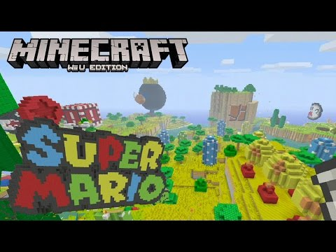 Minecraft Wii U: Super Mario Mash-Up Pack