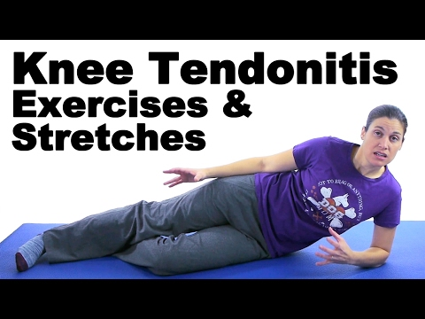 Knee Tendonitis Exercises & Stretches Ask Doctor Jo