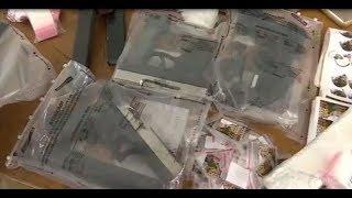 Uso do Envelope de Segurança Starlock pela Polícia Civil de Minas Gerais para apreensão de drogas.
