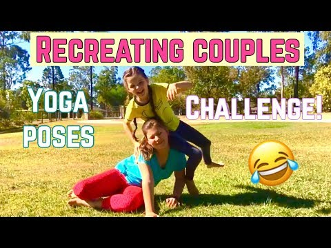 recreating couples yoga poses challenge d epic fail