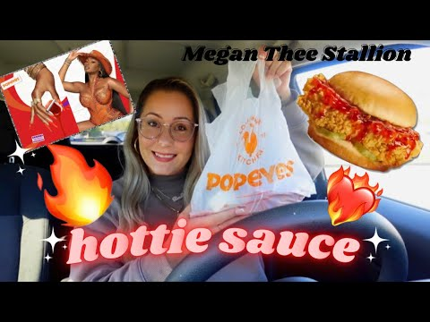 Download Popeye's NEW Megan Thee Stallion - Hottie Sauce Review | IS IT WORTH A CHEAT DAY?! | SOMETHING TINA