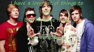 The Maine- The Way We Talk (With Lyrics)