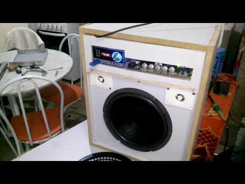 caixa amplificada ciclotron prc 200