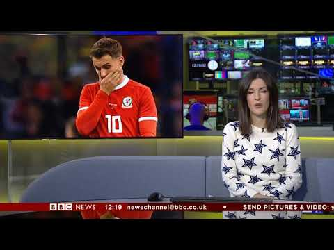 Katherine Downes BBC News Channel HD Newsroom Live Sport October 15th 2018