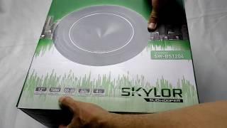Автомобильный сабвуфер SKYLOR SW BS1204, распаковка, характеристики, обзор