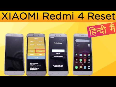 How to Reset XIAOMI Redmi 4 in Hindi?2 method to reset redmi 4 in Hindi.
