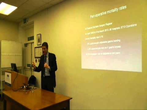 Medicine for Members - Presentation on Bariatrics by Mr Guy Slater, Consultant Surgeon, WSHT