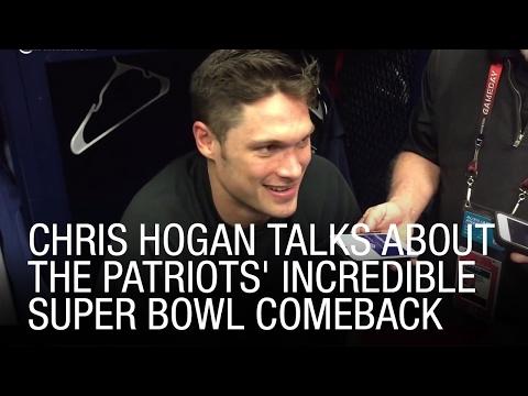 EXCLUSIVE: Chris Hogan Talks About The Patriots' Incredible Super Bowl Comeback