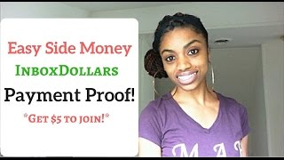 My InboxDollar Check! + Sites That Pay You To Sign Up!
