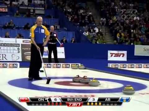 2012 Tim Hortons Brier - Koe (AB) vs. Howard (ON) - Gold Medal Final