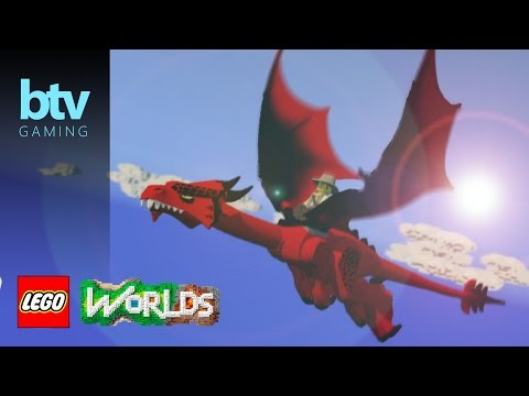 LEGO Worlds: How To Find Your Dragon