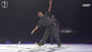 Popping Best 16 - Juste Debout 2019 - Kei & Gucchon vs Future & Rashaad